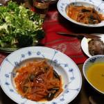 クリスマスの食卓は…サワラのトマト煮込み