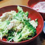 キヌアと蒸し鶏サラダ(2度目)