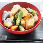 御講料理風?夏野菜の煮物 20200613