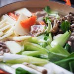 韓国風の鶏鍋20201120