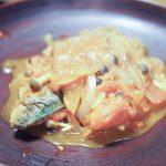 塩鯖のトマト煮込み 20210112
