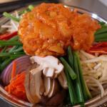 鶏胸肉の韓国風鍋 神開