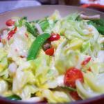 カニごはん 蒸し野菜