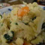 沖縄おから と、山芋とモズク