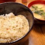 ギョウザ、豆腐サラダ、トロロご飯