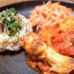 鶏肉のトマト煮込み20180513