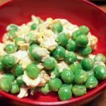 ウスイマメの卵とじ 豆ごはん 20180526-27