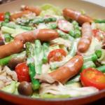 サバの南蛮漬け風マリネ 蒸し野菜