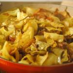 キャベツと昆布と挽肉トマト煮