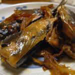 サンマと長ネギの生姜煮